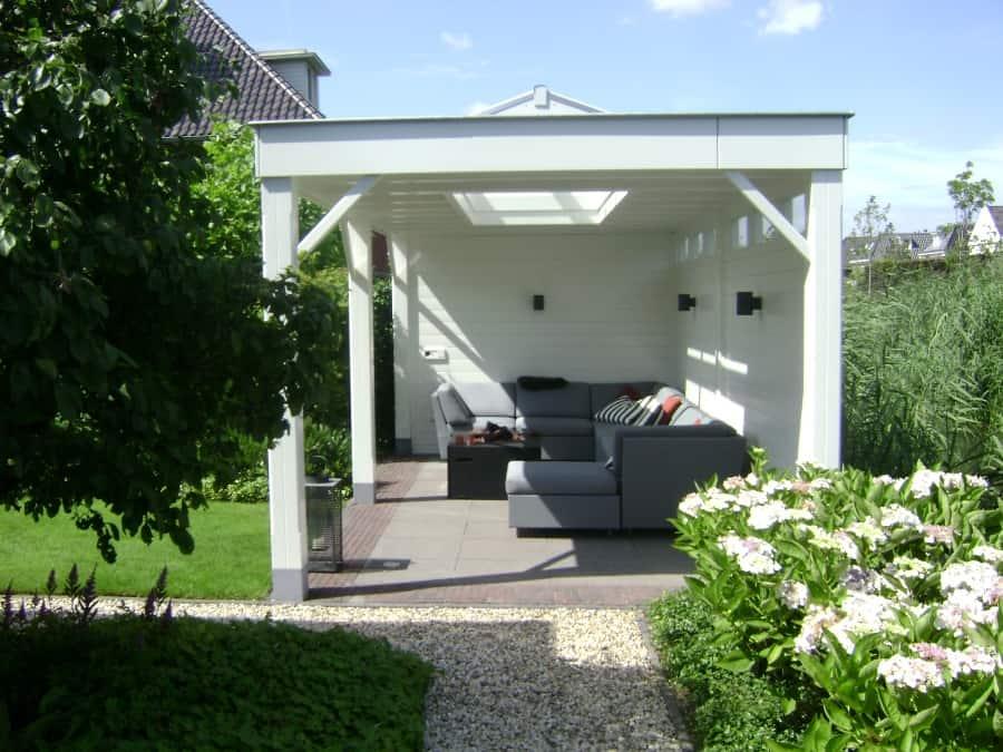 Luxe Tuinkamer Met Lichtstraat