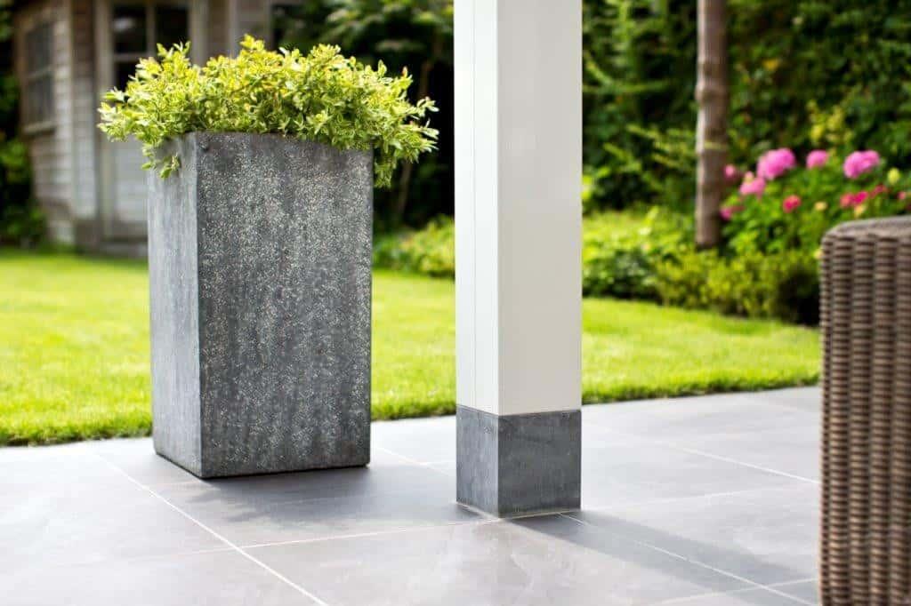 Veranda hardsteen kolom