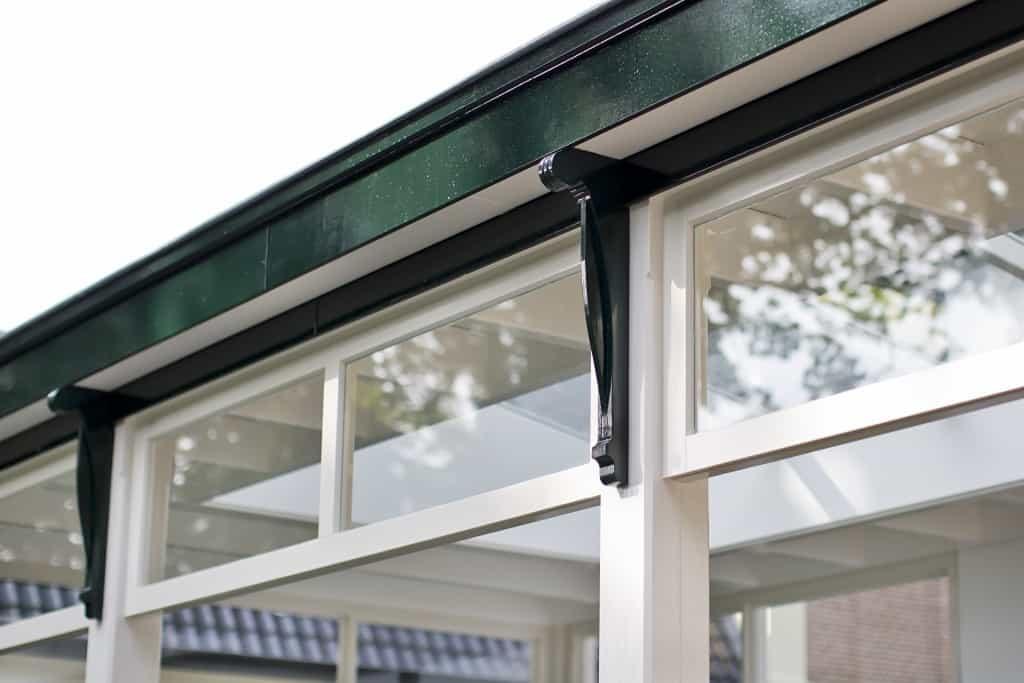 Veranda aan huis details