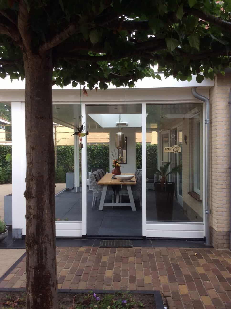 Veranda Met Screen Decoratie